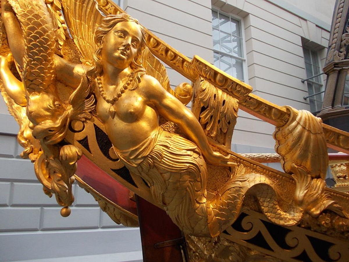 Sculpture built in 1731