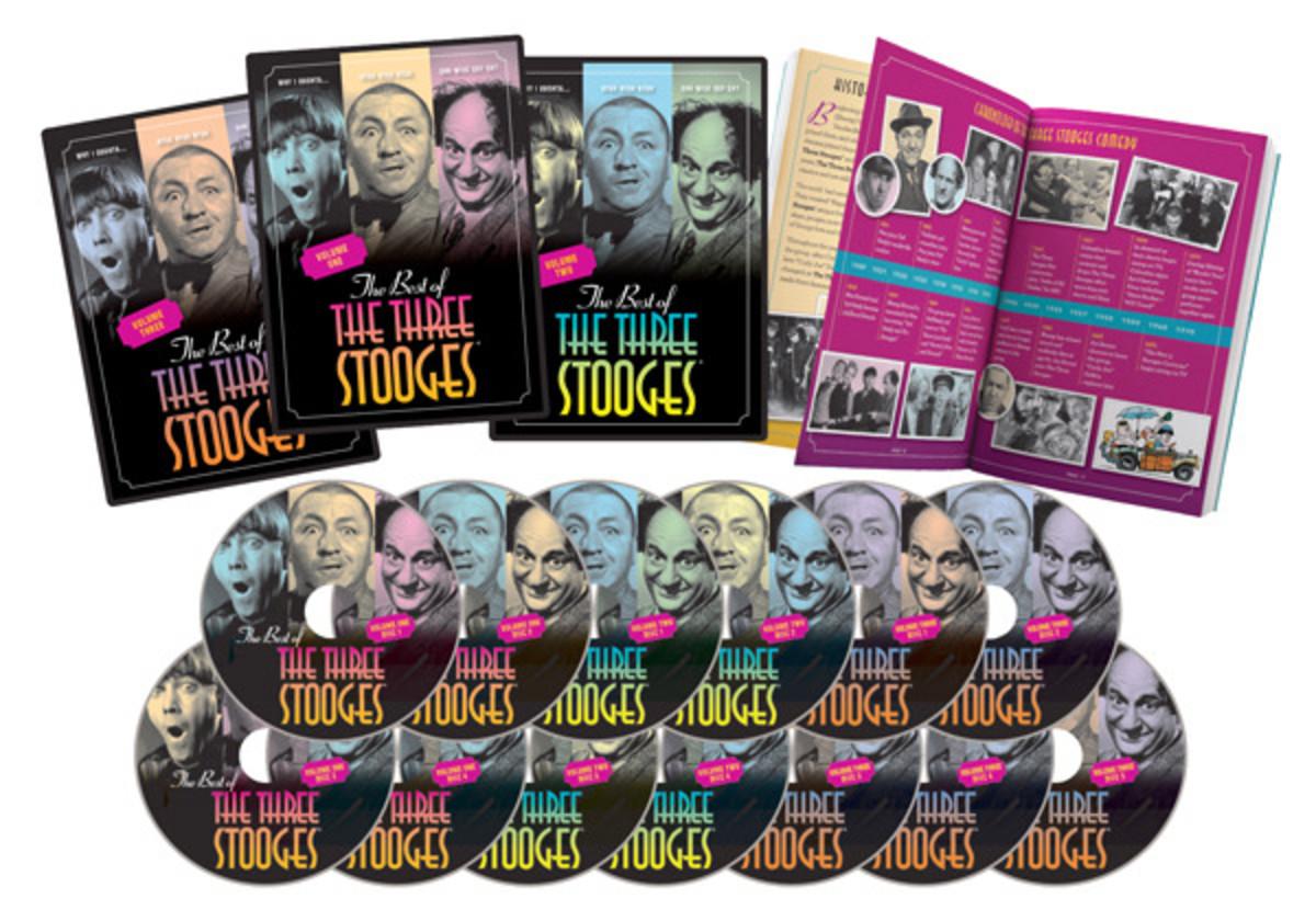 Three Stooges 13 DVD box set