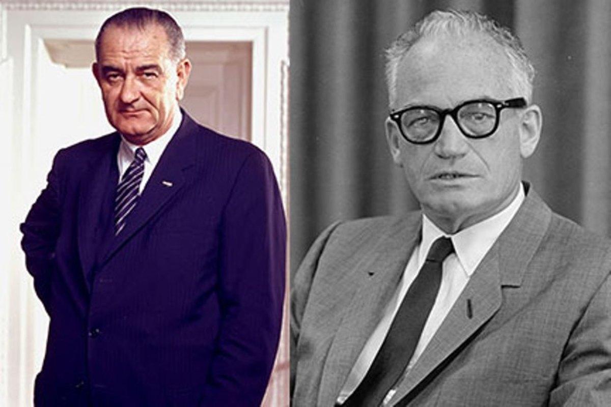 Johnson versus Goldwater