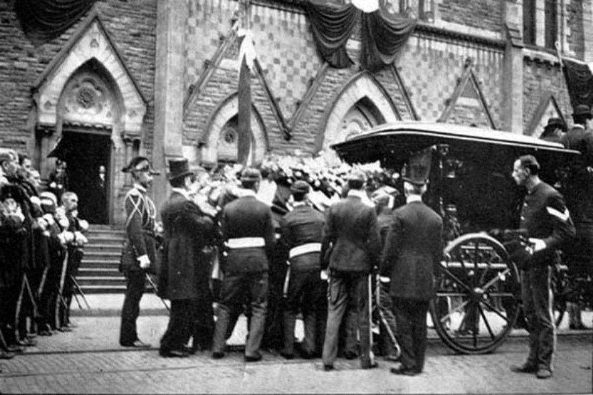 McKinley's Funeral
