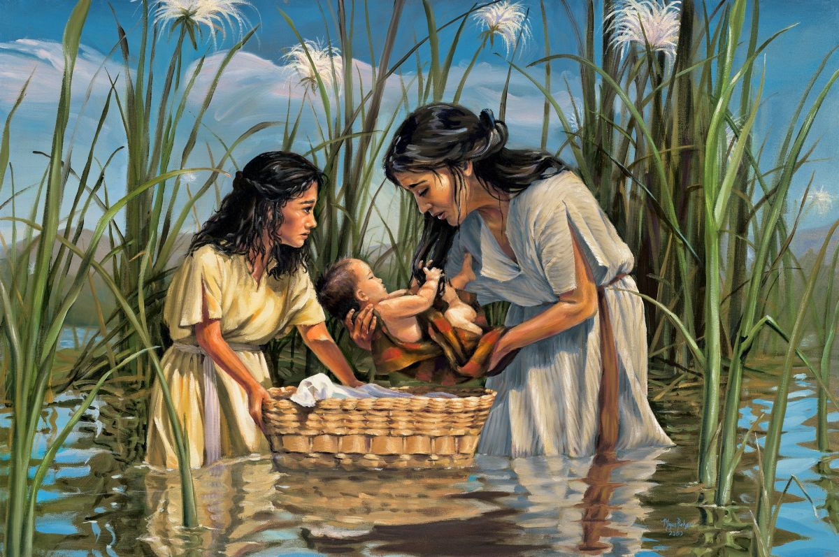 Moses Mother and Miriam