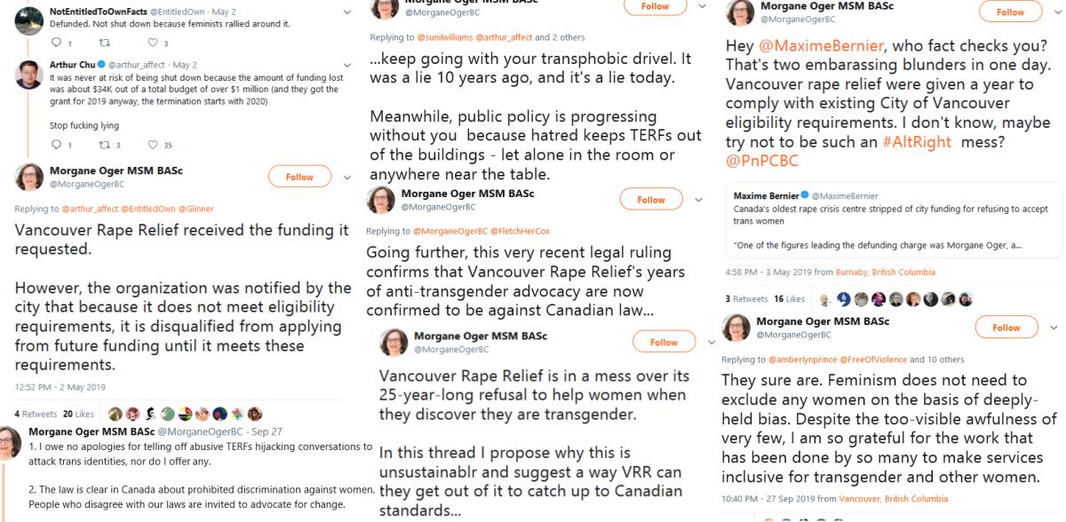 More of Morgane Oger's tweets