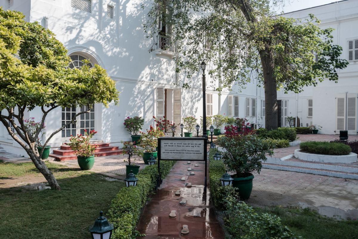 Gandhi's memory at the Museum Delhi