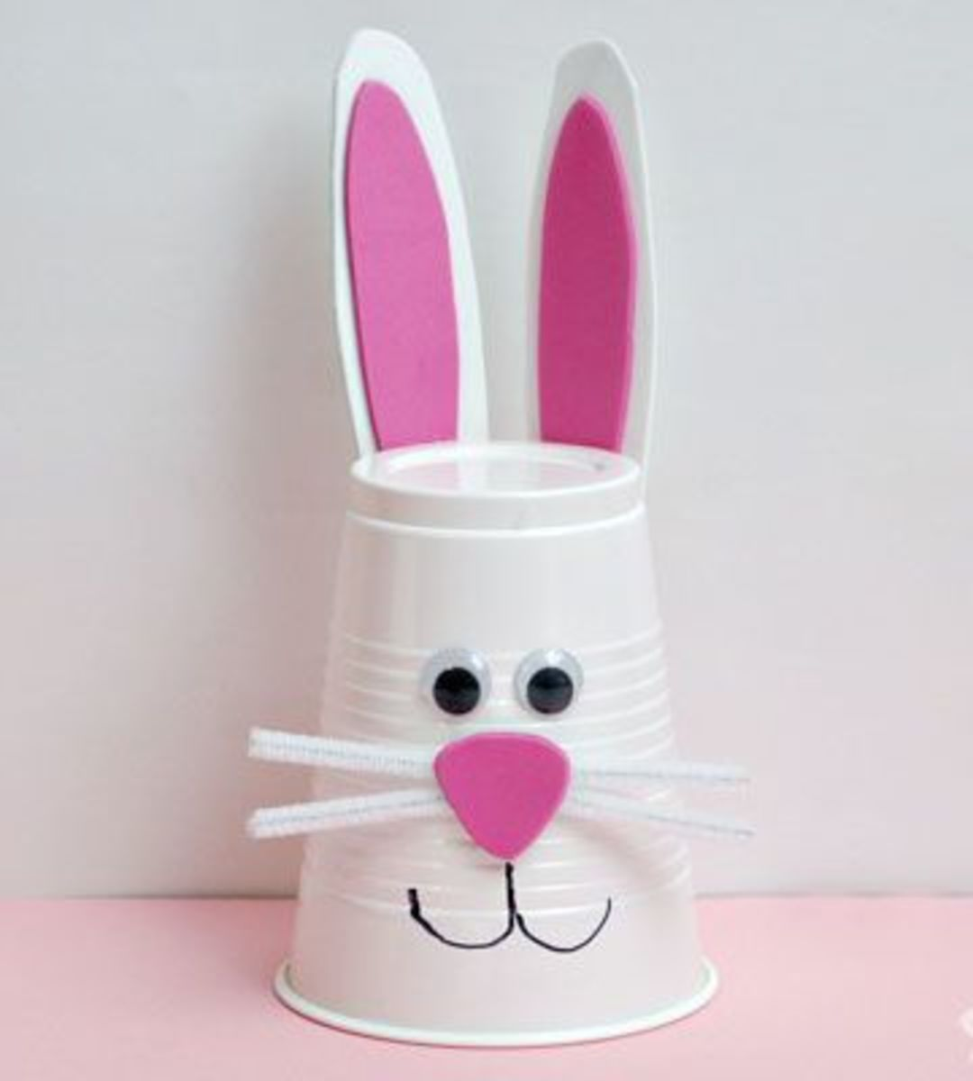 How to Make Foam Cup Bunnies | Easy Easter Crafts for Kids to Make