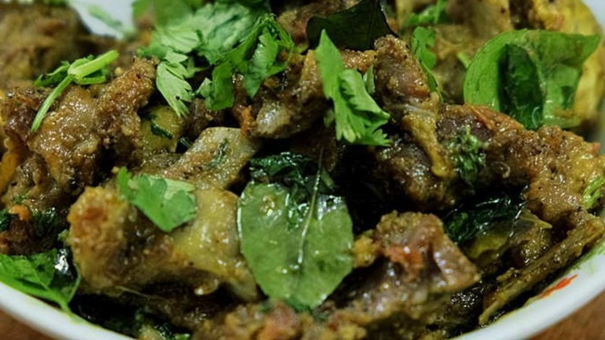 Simple Mutton Fry