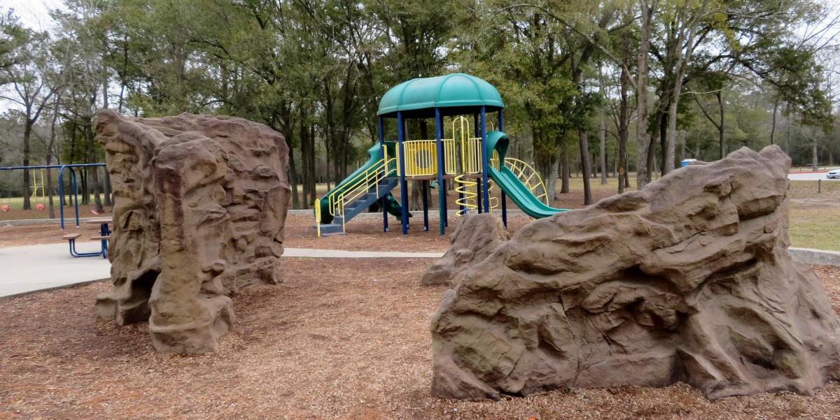 Climbing Rock Walls & Playground Equipment