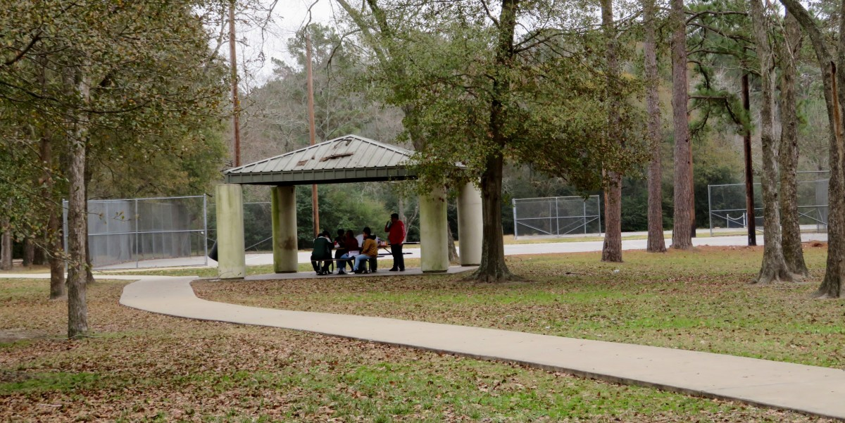 Covered Pavilion near Tennis Courts