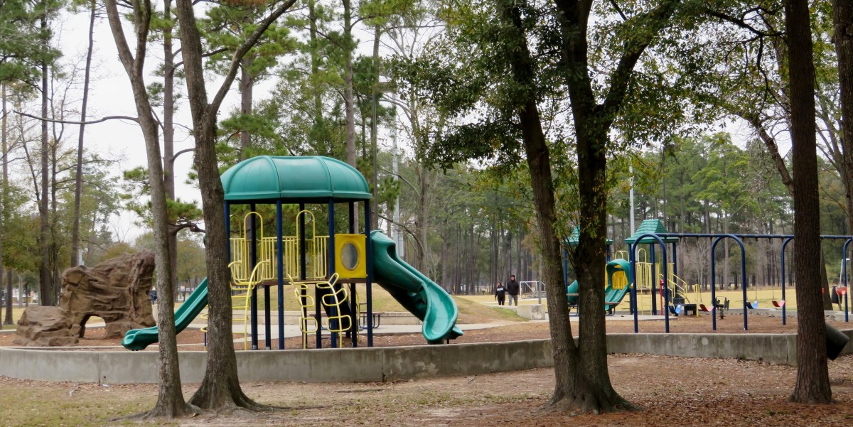 Playground Equipment in Keith-Wiess Park