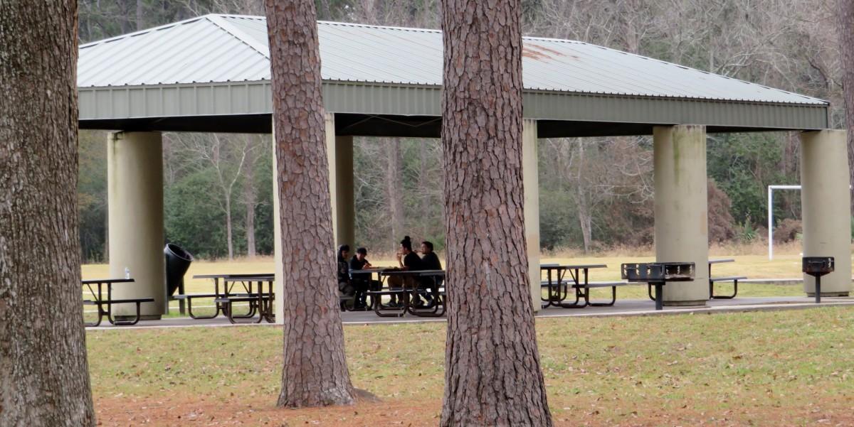 Covered Pavilion near Soccer Fields & Children's Playground