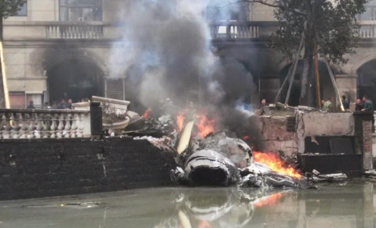 J-10B crash