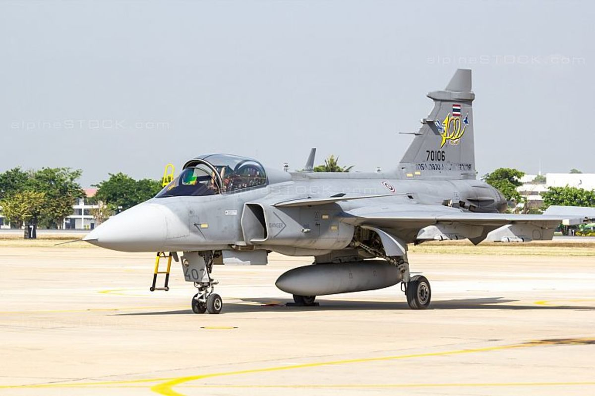 Thailand's Gripen Fighter Jet. The one that shamed the Chinese J-11.