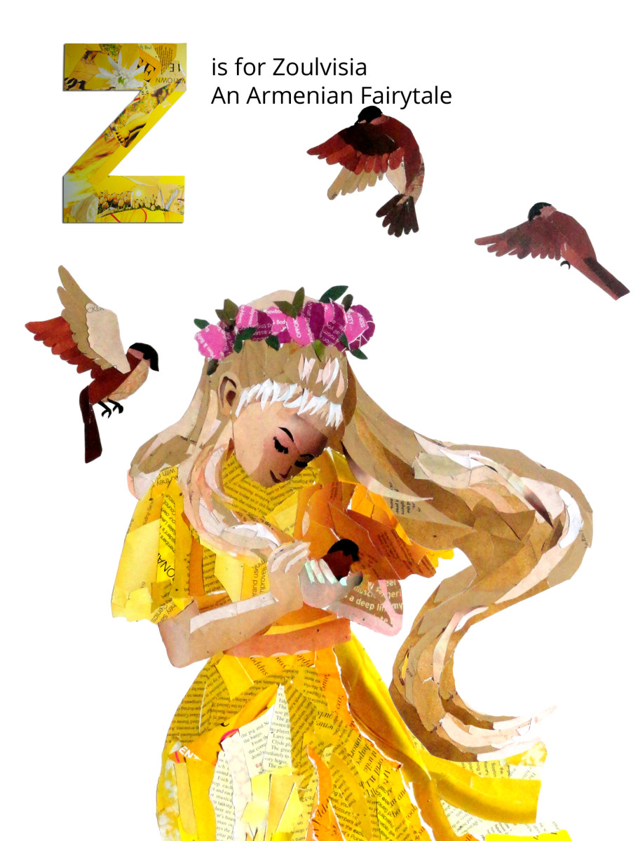 Z is for The Story of Zoulvisia, an Armenian Fairy Tale