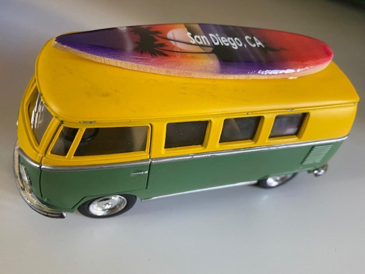 San Diego VW Bus Toy