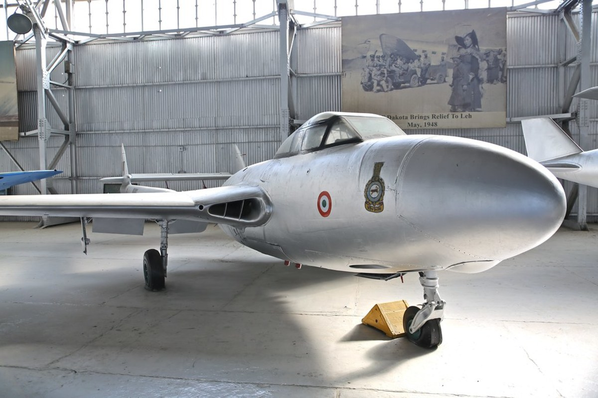 At the Air Force Museum , Palam
