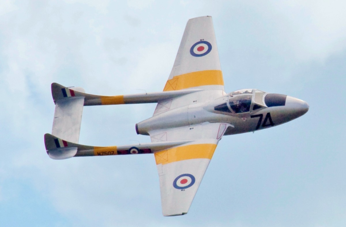 The De Havilland Vampire Fighter Bomber With the Iaf