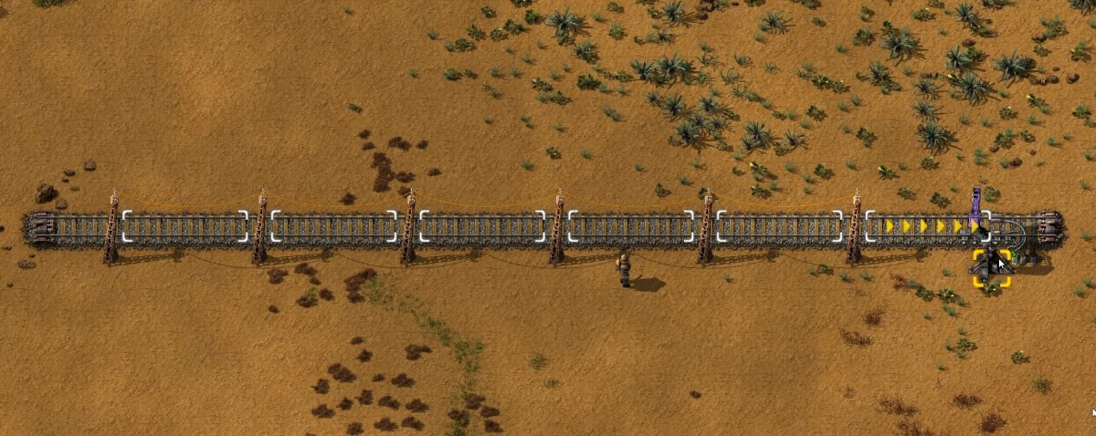 Station with room for 6 vehicles.