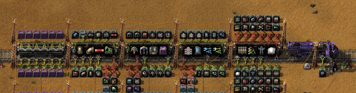 Factorio: How to Build a Building Train, Part 1 of 2