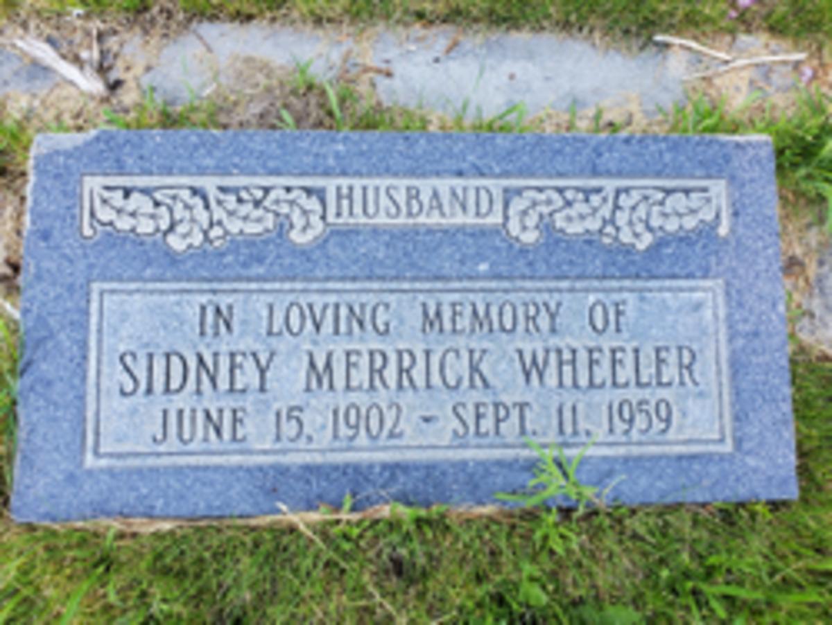 Sidney M. Wheeler, Marker