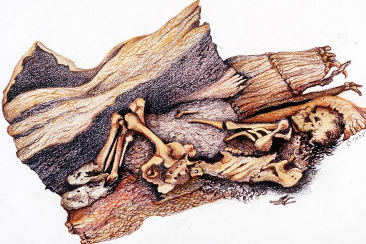 Oldest Mummy Found in America, 10,600 Years Old