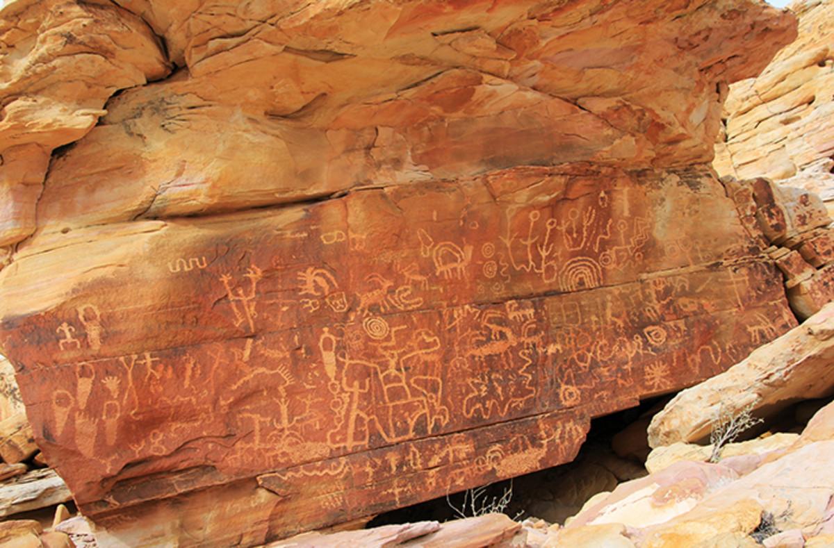 Spirit Cave Carvings