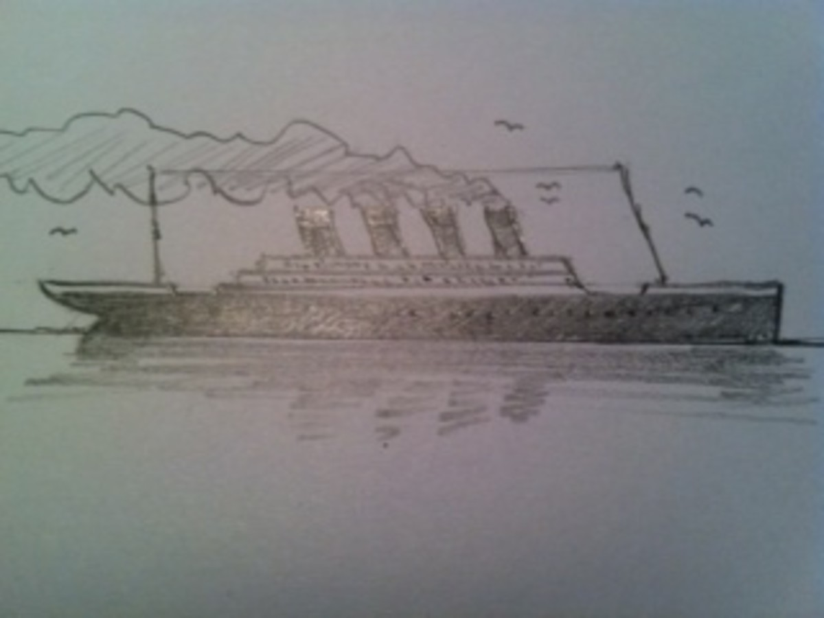 how-to-draw-the-titanic