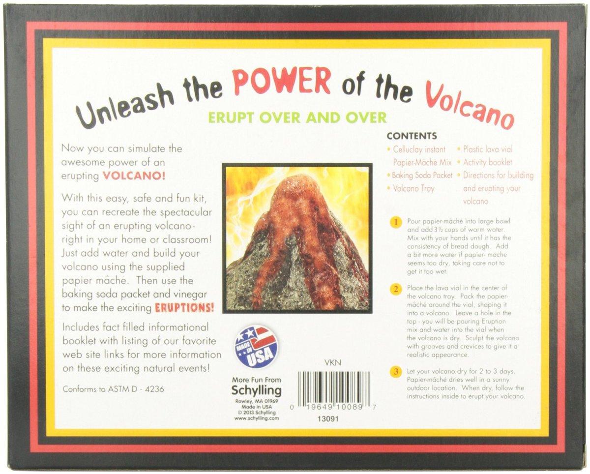 Paper Mache Volcano Kit