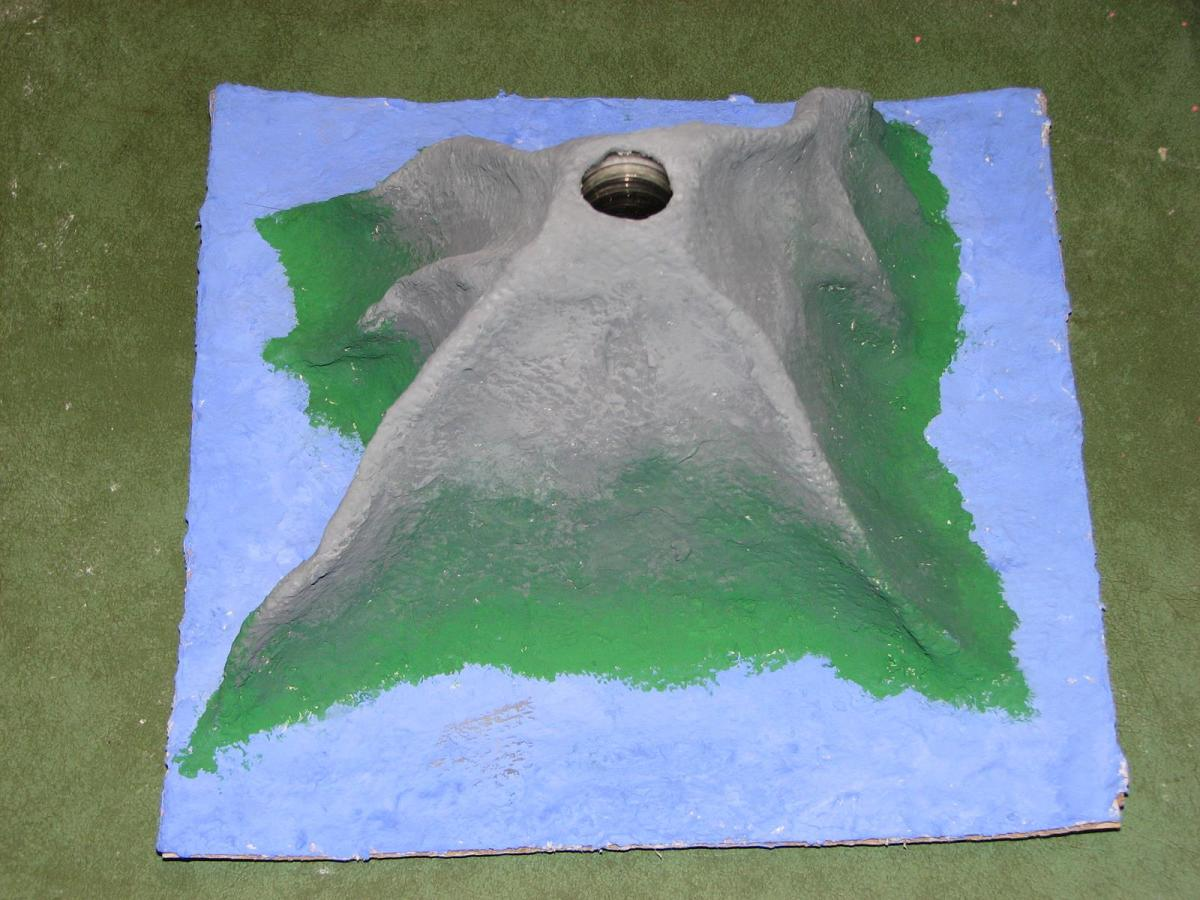 3 ways to make a paper mache volcano hubpages for Simple paper mache projects