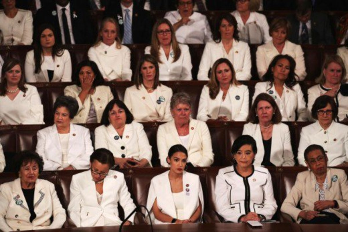 Democratic Women, All in White, Solidified in the Practice of Infanticide
