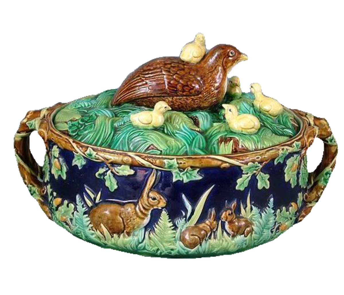Antique Majolica Pottery