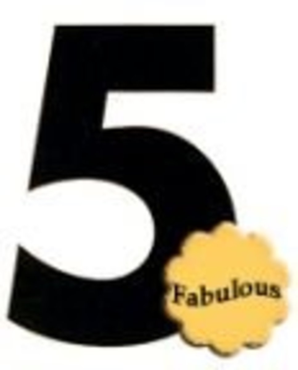 The Fabulous Number 5