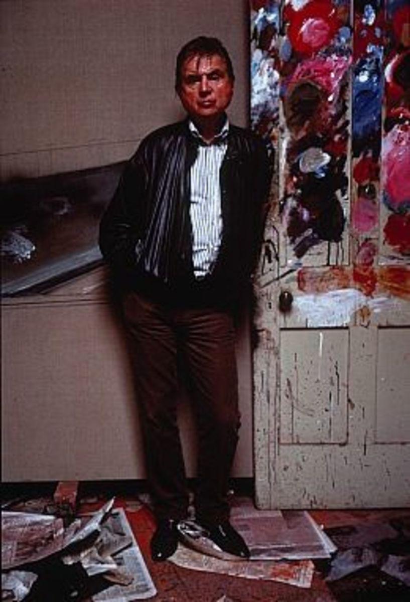 Francis Bacon in his Studio, 1984