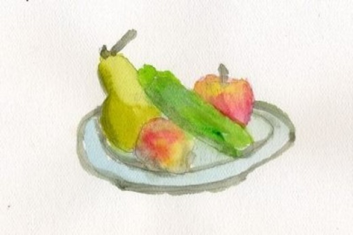 Still Life With Watercolors
