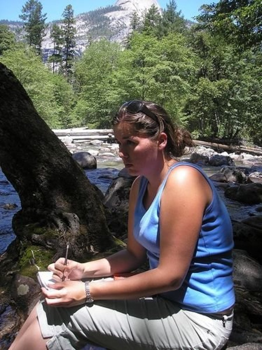 Nature Journal Sketching Outdoors