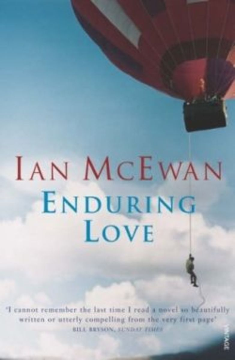 a book analysis of enduring love by ian mcewan Buy enduring love first edition, first impression by ian mcewan (isbn: 9780224050319) from amazon's book store everyday low prices and free delivery on eligible orders.