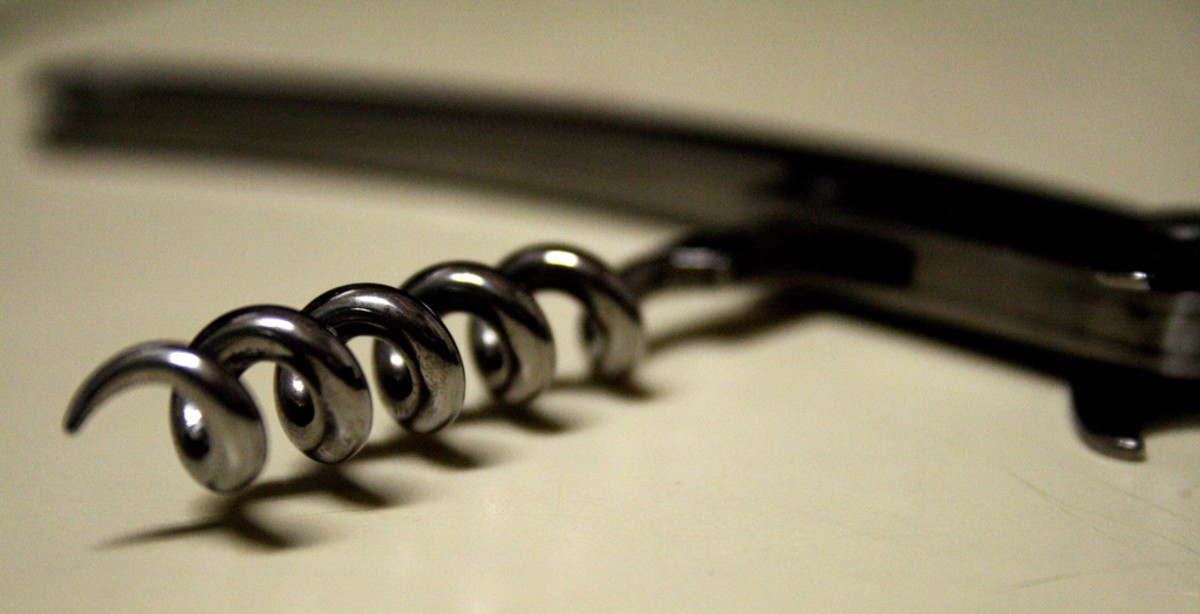 Corkscrews are an intuitive type of wine opener