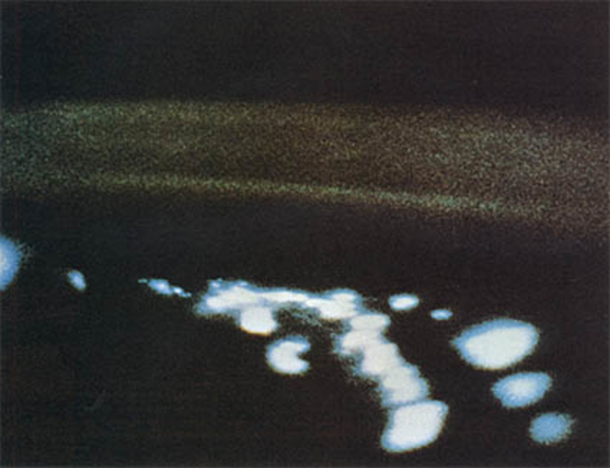 """""""UFO""""s photographed in Mercury and Gemini missions."""