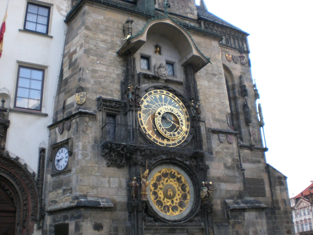 Prague's intricate and gorgeous Astronomical Clock.