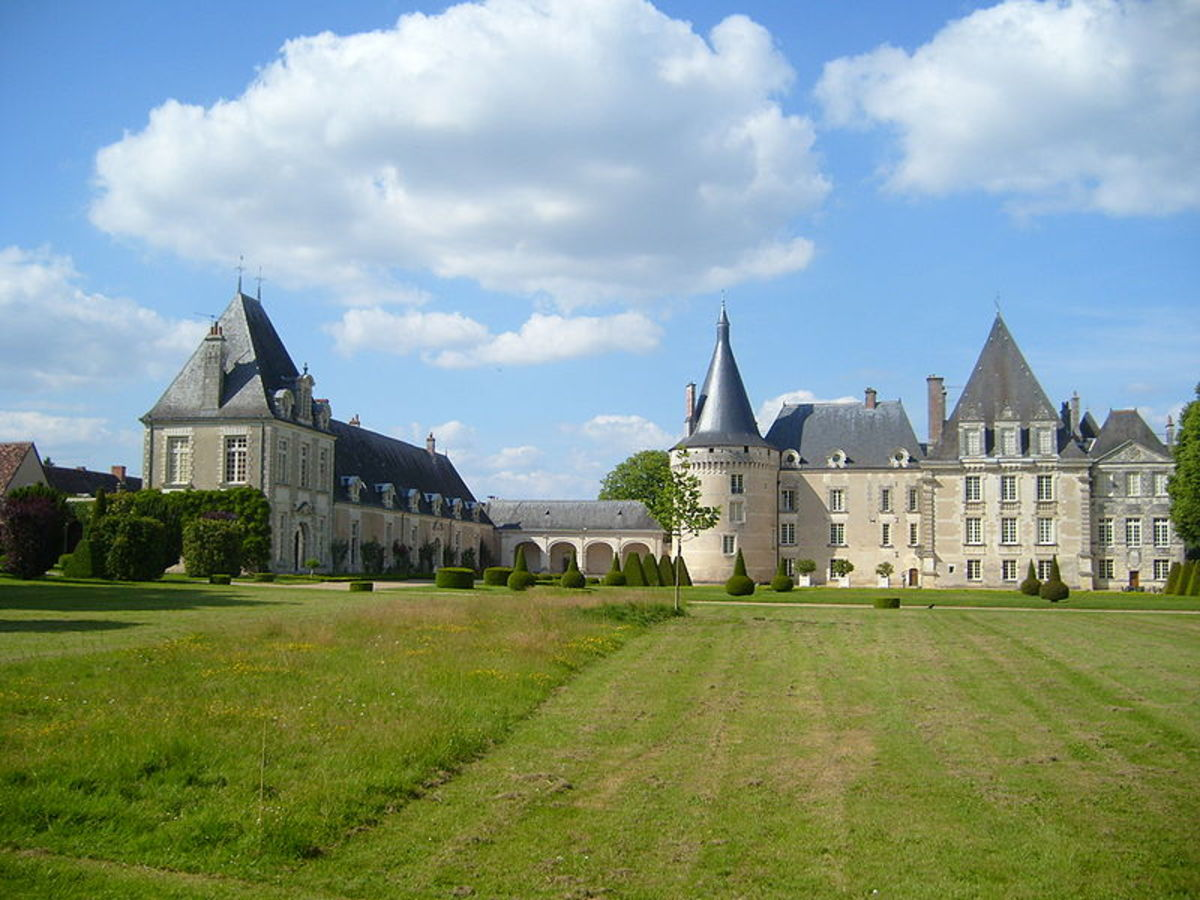 Chateau d'Azay-le-Ferron View from Park