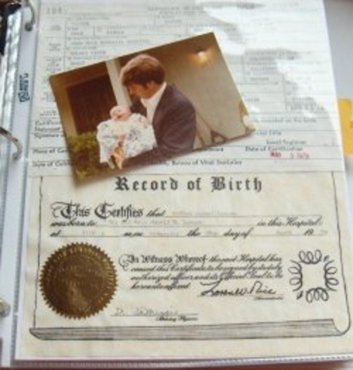 family-history-scrapbooks
