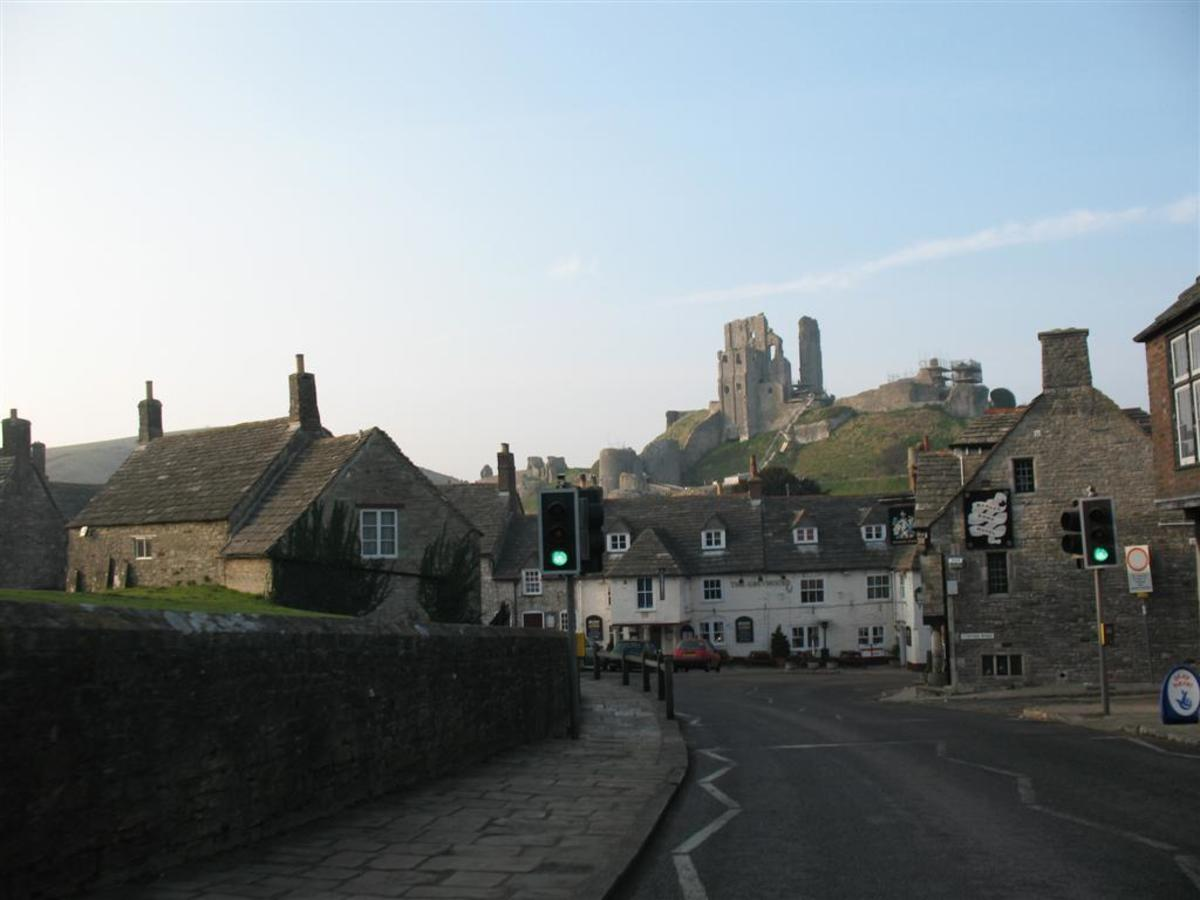 Corfe Castle In Dorset A National Trust Property - Click on the link to learn more