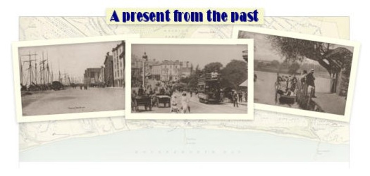 Old photographs of Sandbanks and the Bournemouth, Poole and Christchurch areas