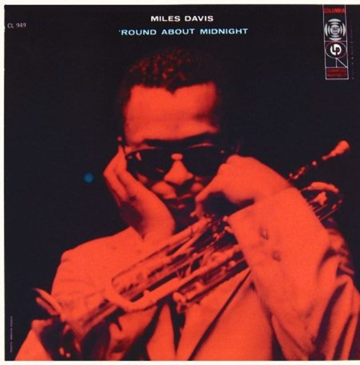 "Miles Davis Round About Midnight Columbia Records CL 949 12"" LP Vinyl Record (1957) Album Cover Photo by Marvin Koner"