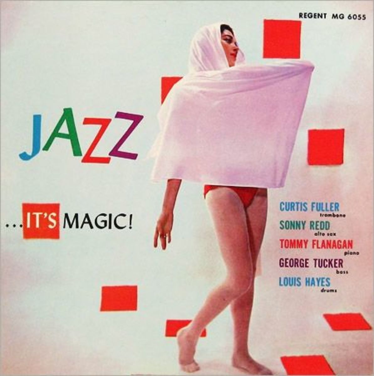 "Tommy Flanagan  ""Jazz...It´s Magic !"" Regent Records 6055 12"" LP Vinyl Record (1957) Photo by Berk Costello"