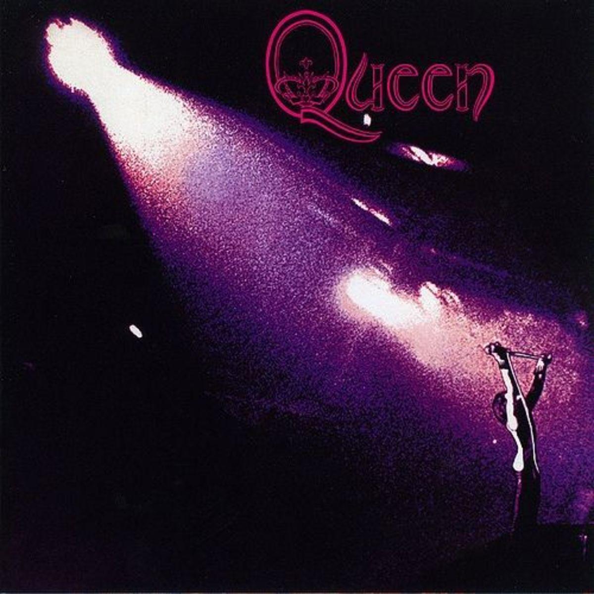 "Queen ""Queen"" Elektra Records EKS-75064 12"" LP Vinyl Record (1973) Album Cover Art by Freddie Mercury"