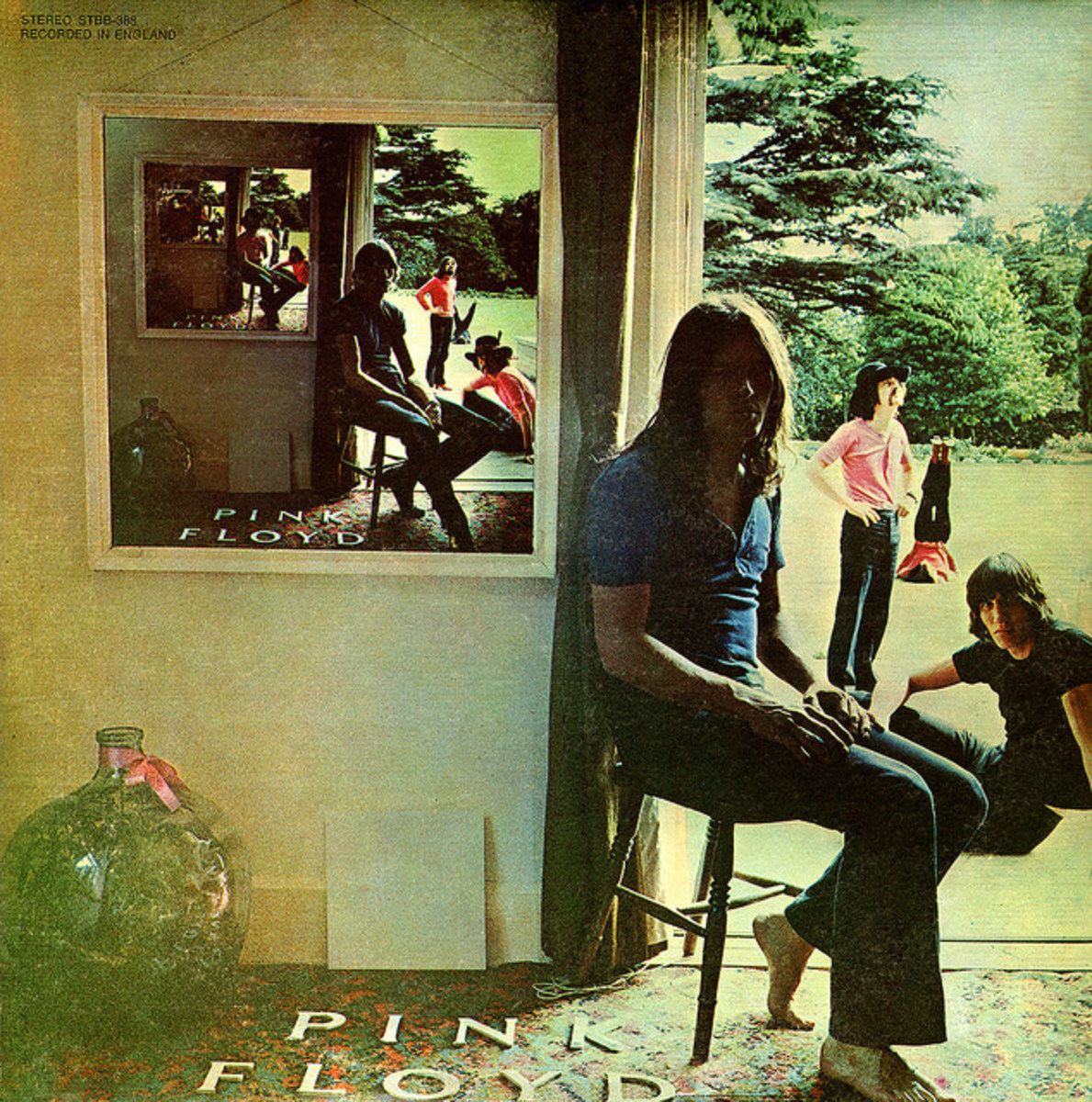 "Pink Floyd ""Ummagumma"" Harvest Records STBB 288 2 12"" LP Vinyl Record Set, UK Pressing (1969) Album Cover Design by Hipgnosis."