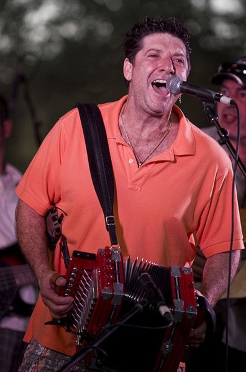 Wayne Toups and ZydeCajun at 2008 Festivals Acadiens et Créoles in Lafayette, LA.