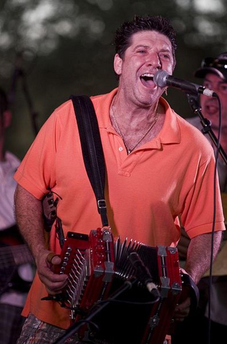 Wayne Toups and ZydeCajun at 2008 Festivals Acadiens et Créoles in Lafayette, LA.