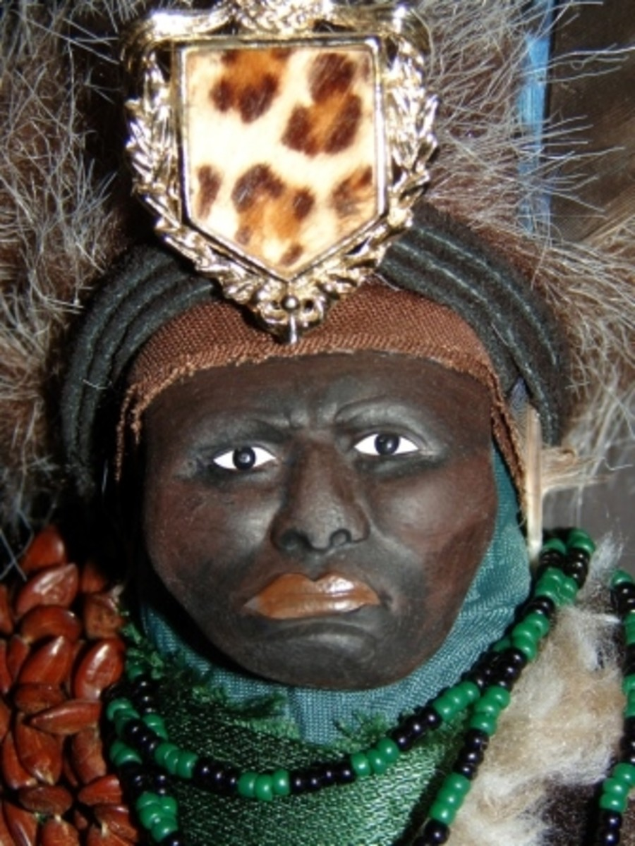 Ogun Voodoo Doll, as seen on National Geographic's Taboo