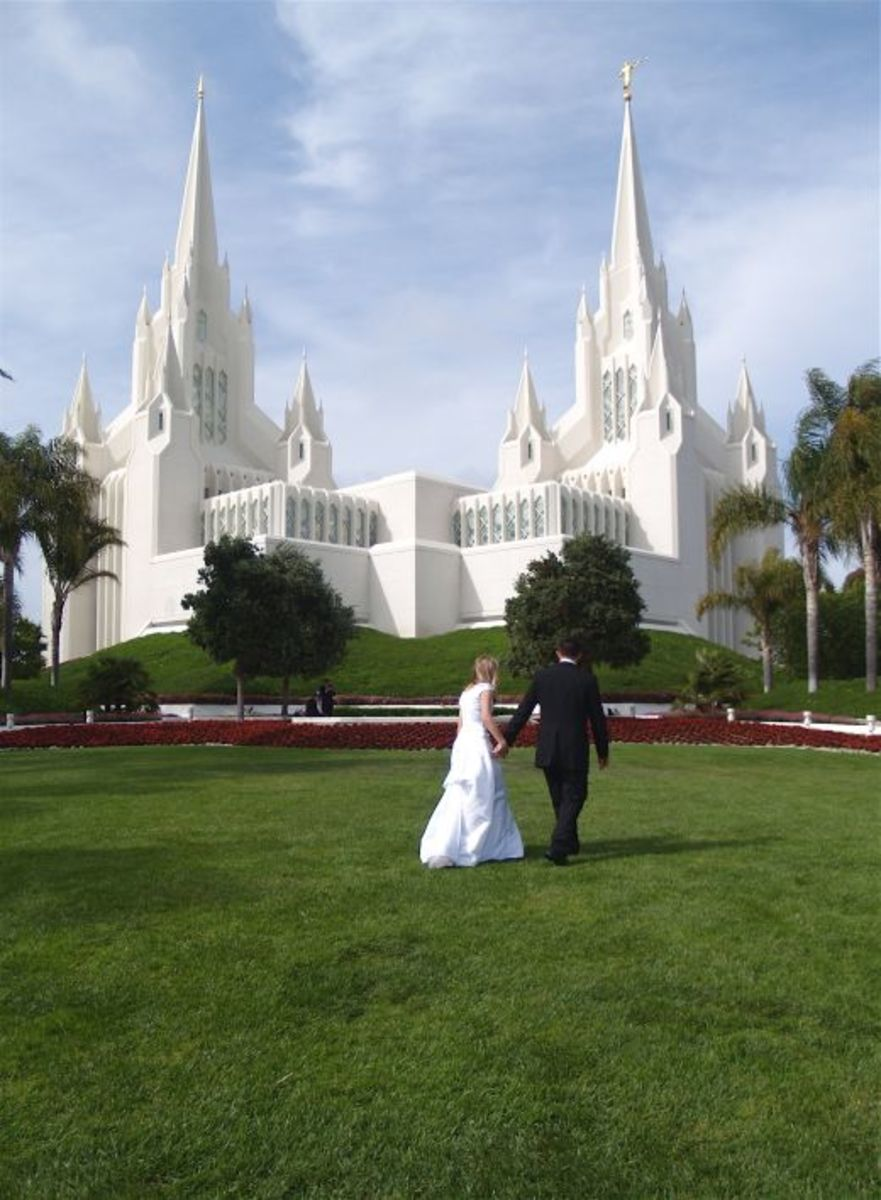 LDS Girls prepare themselves by the choices they make each day - to make and keep sacred covenants in Holy Temples.