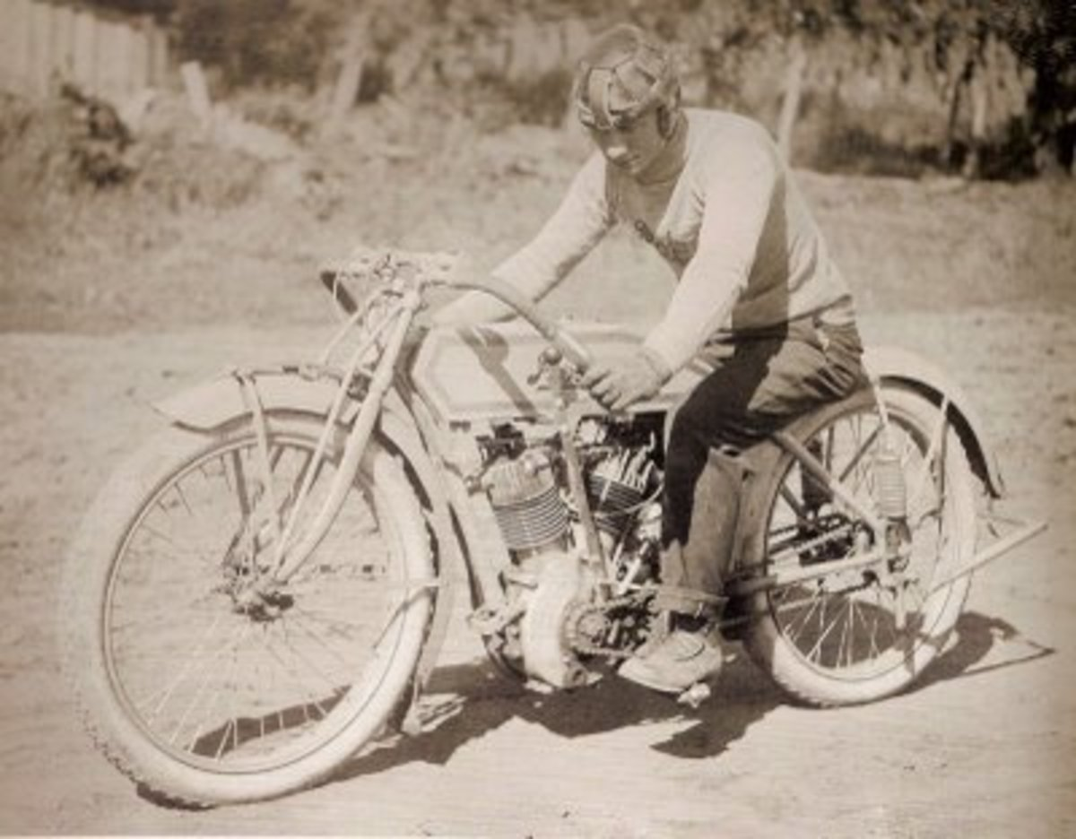 1914 Pope Board Track Racer